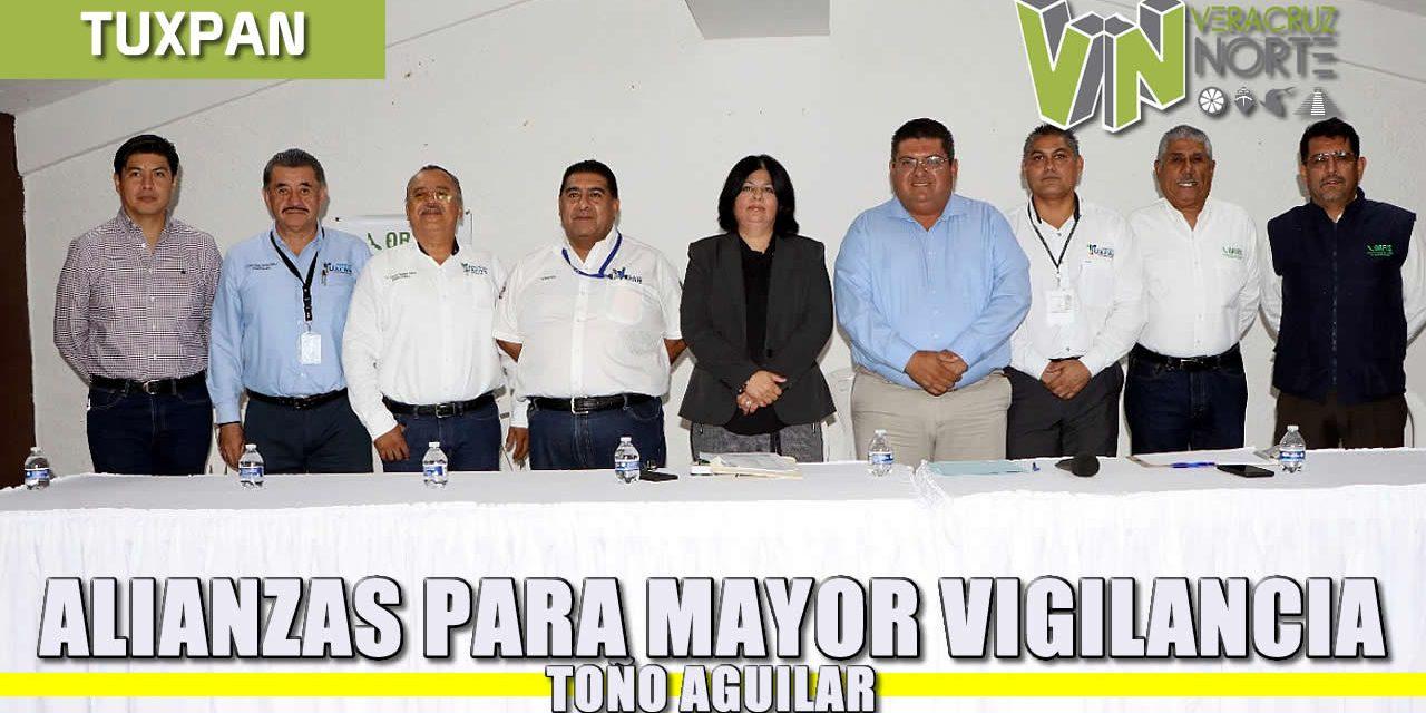 Alianzas para mayor vigilancia: Toño Aguilar