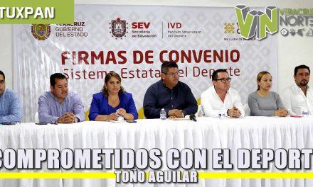 Comprometidos con el Deporte: Toño Aguilar