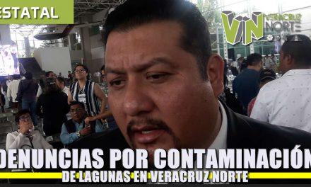 Denuncias por contaminación de lagunas en Veracruz Norte