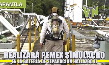 Realizará Pemex simulacro en la Batería de Separación Hallazgo II
