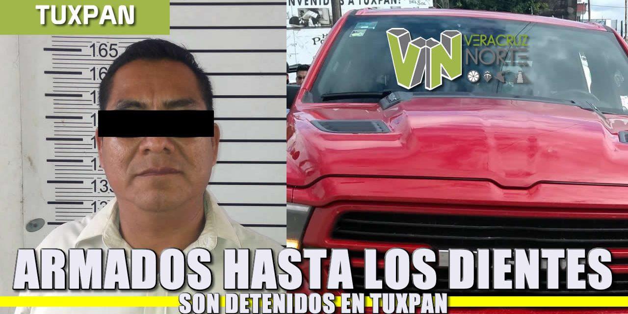 Armados hasta los dientes son detenidos en Tuxpan