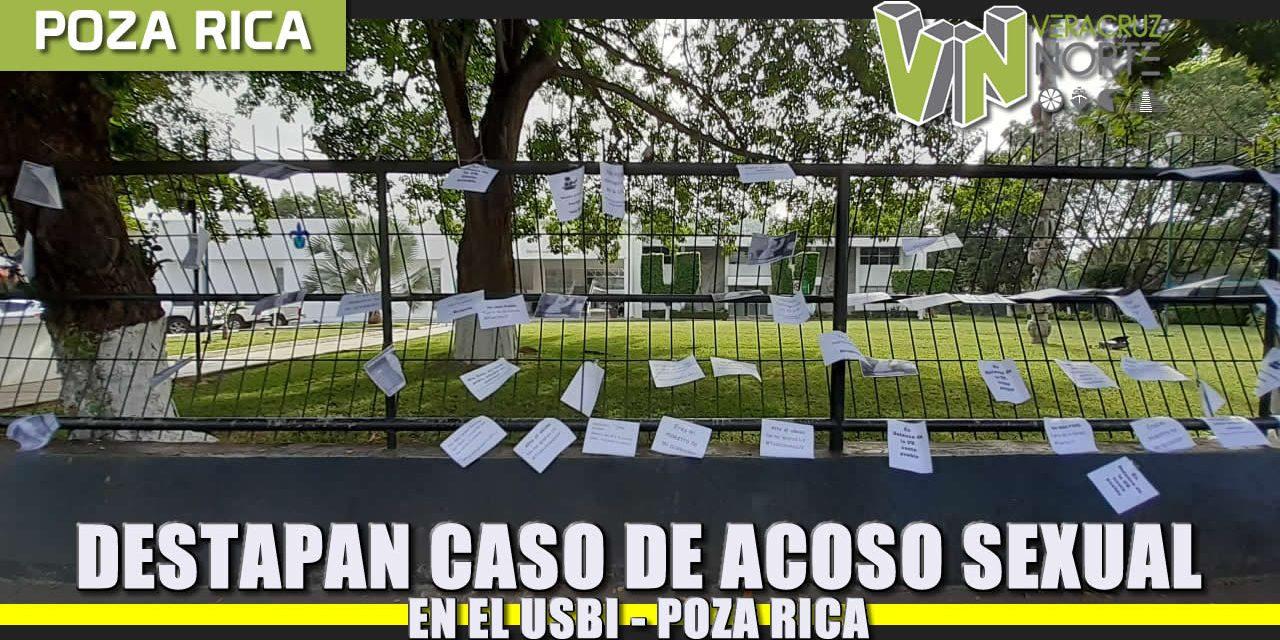 Destapan caso de Acoso Sexual en el USBI – Poza Rica
