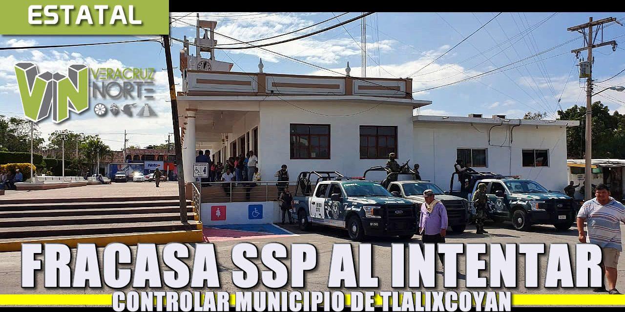 Fracasa intento de la SSP de tomar el mando de la seguridad en Tlalixcoyan