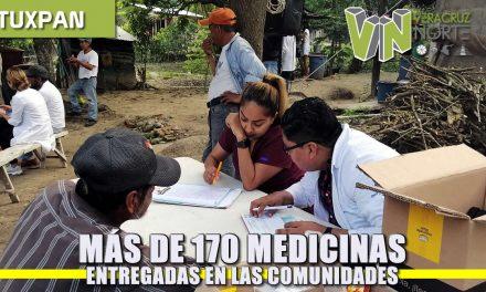Más de 170 Medicamentos entregadas en las Comunidades