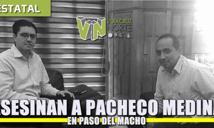 ASESINAN A EX ALCALDE RAFAEL PACHECO MEDINA