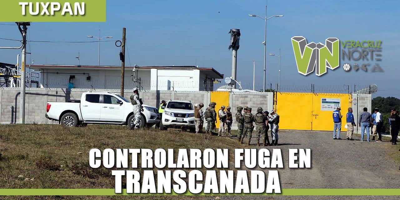 Controlada situación de fuga en TRANSCANADA