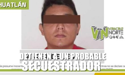 Detienen a Probable Secuestrador