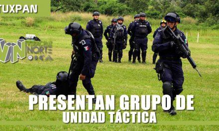 """Presentan grupo de """"Unidad táctica"""""""