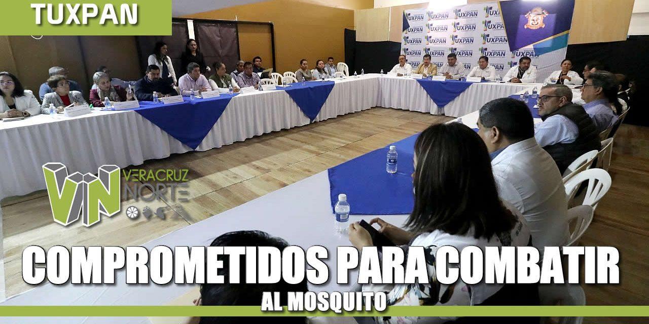 Comprometidos para Combatir al Mosquito