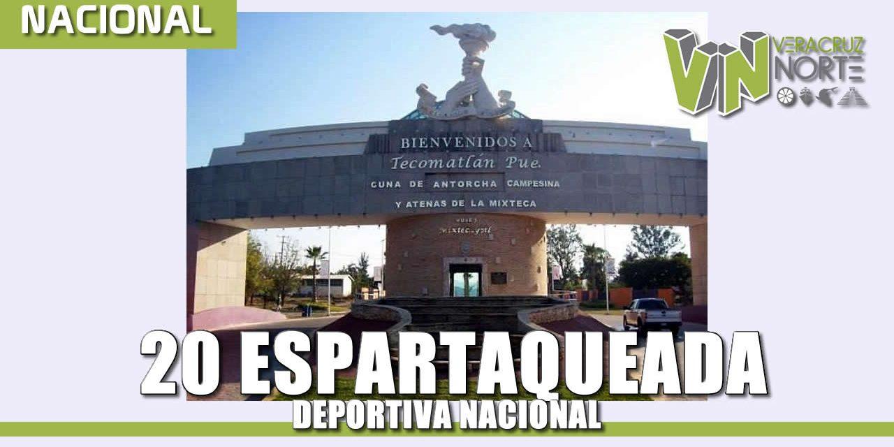 20 ESPARTAQUEADA DEPORTIVA NACIONAL, EN BUSCA DE LA SUPERACIÓN DEL HOMBRE.