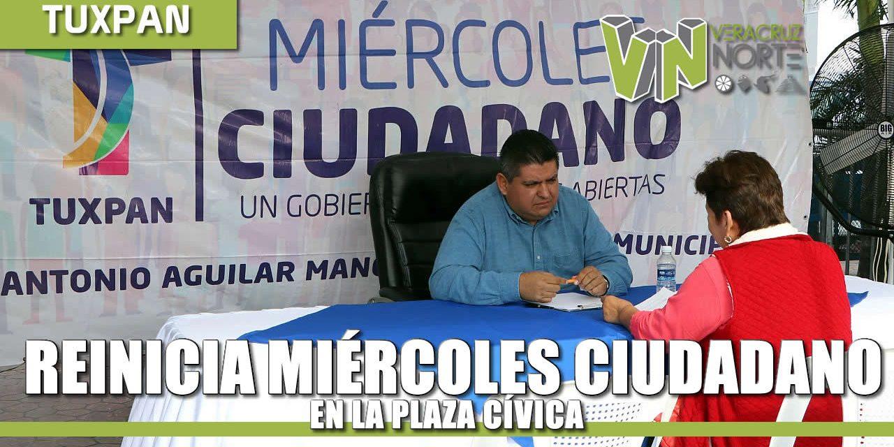 """Reinicia programa """"Miércoles ciudadanos 2020"""""""