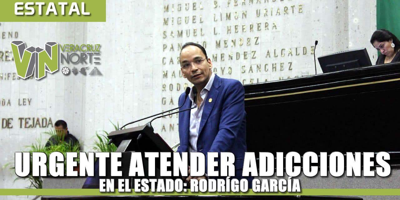 Urgente atender y tratar las adicciones en el estado: Rodrigo García