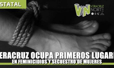 Veracruz ocupa primeros lugares nacionales en feminicidios y secuestros de mujeres: SESNSP
