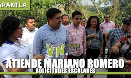 ATIENDE MARIANO ROMERO SOLICITUDES ESCOLARES