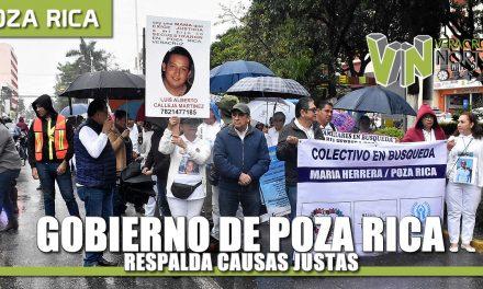 Gobierno de Poza Rica respalda causas justas, afirma Javier Velázquez