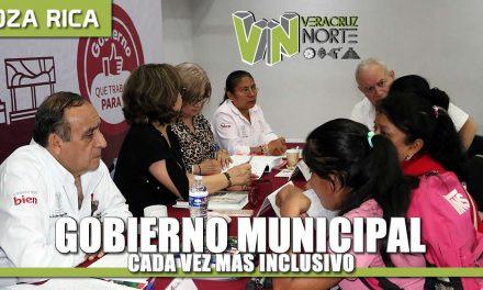 Gobierno Municipal cada vez más inclusivo