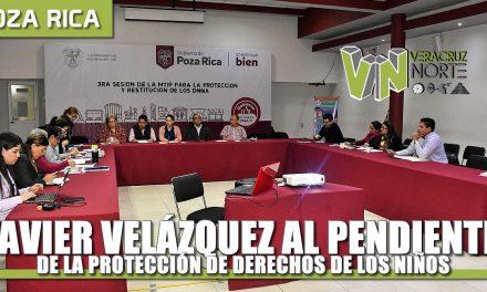 Javier Velázquez al pendiente de la Protección de derechos de niñas, niños y adolescentes