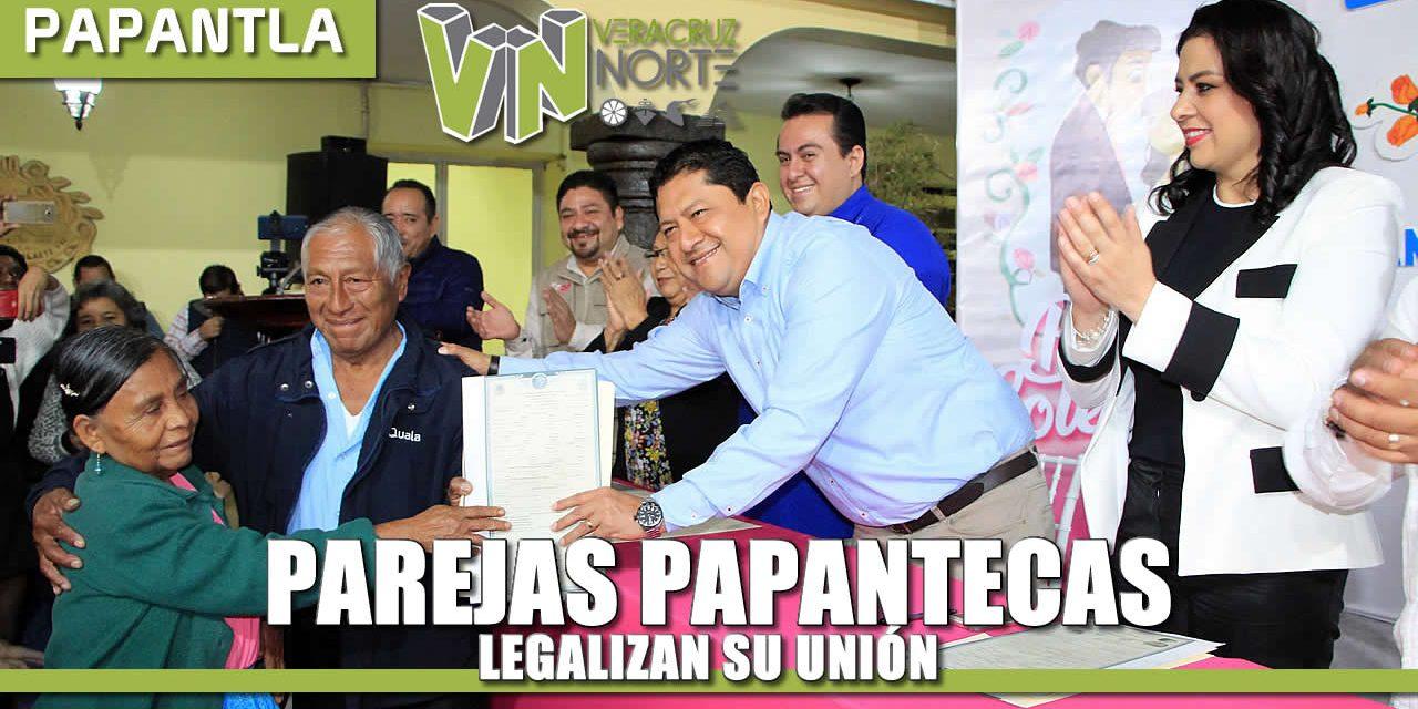 PAREJAS PAPANTECAS LEGALIZAN SU UNIÓN