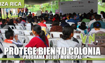 """Programa """"DIF Protege bien en tu colonia"""""""