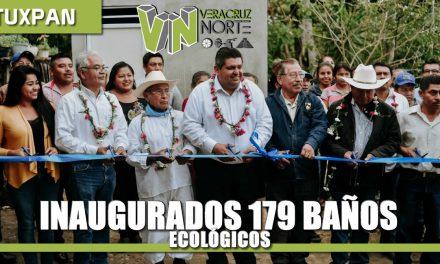 Inaugurados 179 baños ecológicos con biodigestor en Tebanco y Héroes de Chapultepec