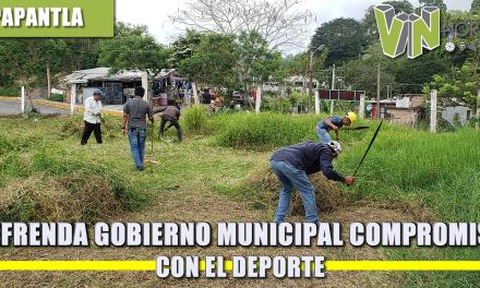 REFRENDA GOBIERNO MUNICIPAL COMPROMISO CON EL DEPORTE