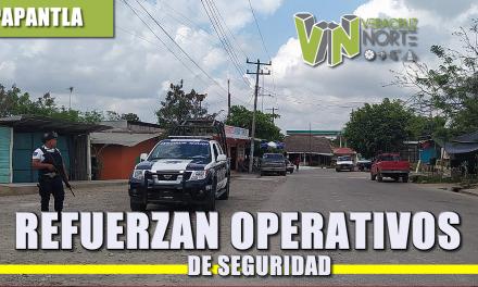 REFUERZAN OPERATIVOS DE SEGURIDAD
