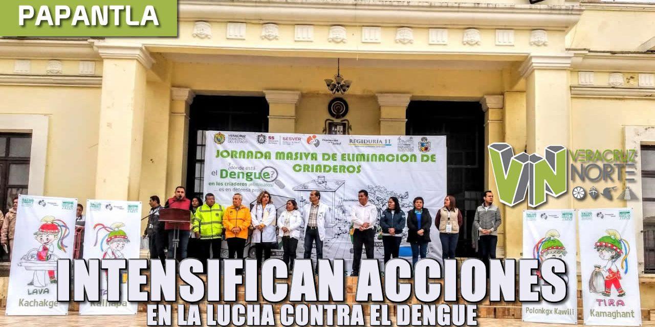 INTENSIFICAN ACCIONES EN LA LUCHA CONTRA EL DENGUE