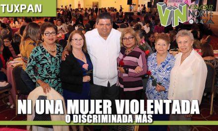Ni una mujer violentada O discriminada más