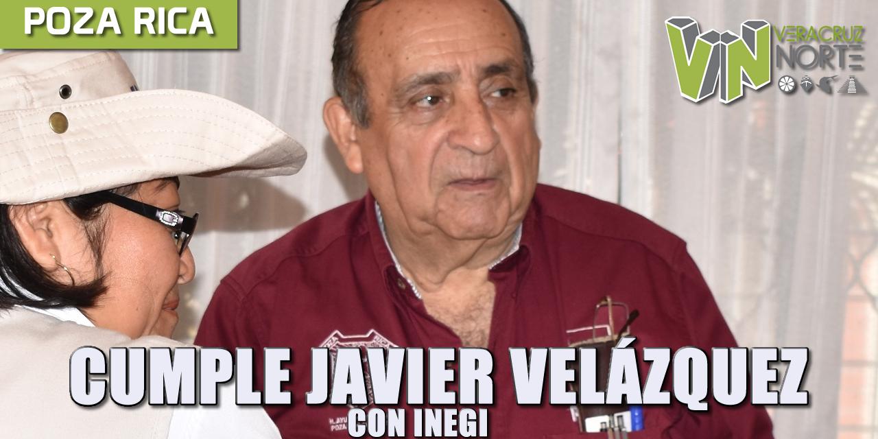 CUMPLE JAVIER VELÁZQUEZ CON EL INEGI