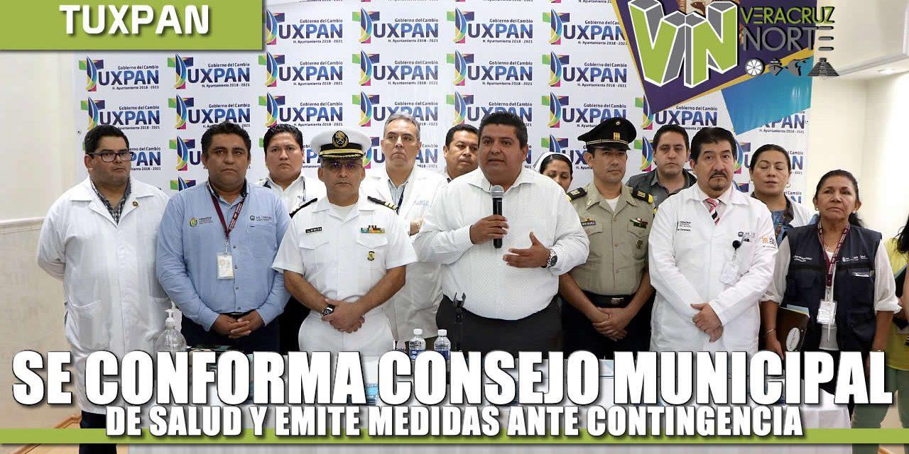 SE CONFORMA EL CONSEJO MUNICIPAL DE SALUD Y EMITE MEDIDAS ANTE CONTINGENCIA