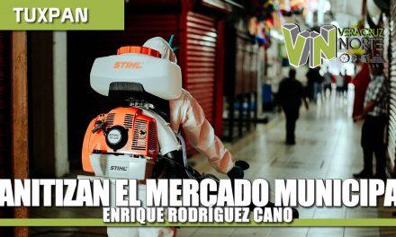 SANITIZACIÓN DEL MERCADO MUNICIPAL ENRIQUE RODRÍGUEZ CANO