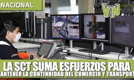 LA SCT SUMA ESFUERZOS PARA MANTENER LA CONTINUIDAD DEL TRANSPORTE Y COMERCIO MARÍTIMO