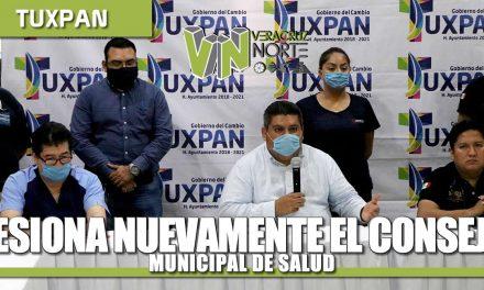 Sesiona nuevamente el COnsejo Municipal de Salud