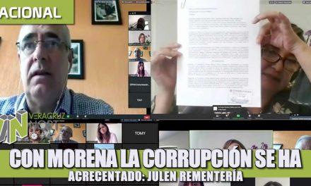 Con Morena la corrupción se ha incrementado: Julen Rementería