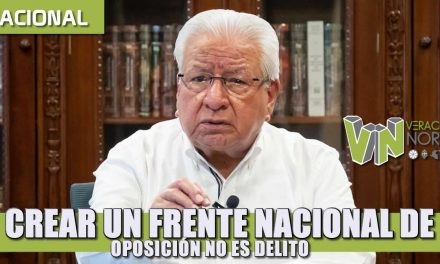 Crear un frente nacional de oposición no es delito: Antorcha