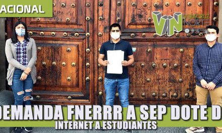Demanda FNERRR a SEP dote de internet a estudiantes