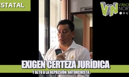 Exigen certeza jurídica y alto a la represión: Antorchistas
