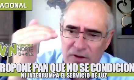 Propone PAN que no se condicione ni interrumpa el servicio de luz a los mexicanos durante la contingencia