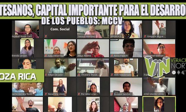 ARTESANOS, CAPITAL IMPORTANTE PARA EL DESARROLLO DE LOS PUEBLOS: MCCV