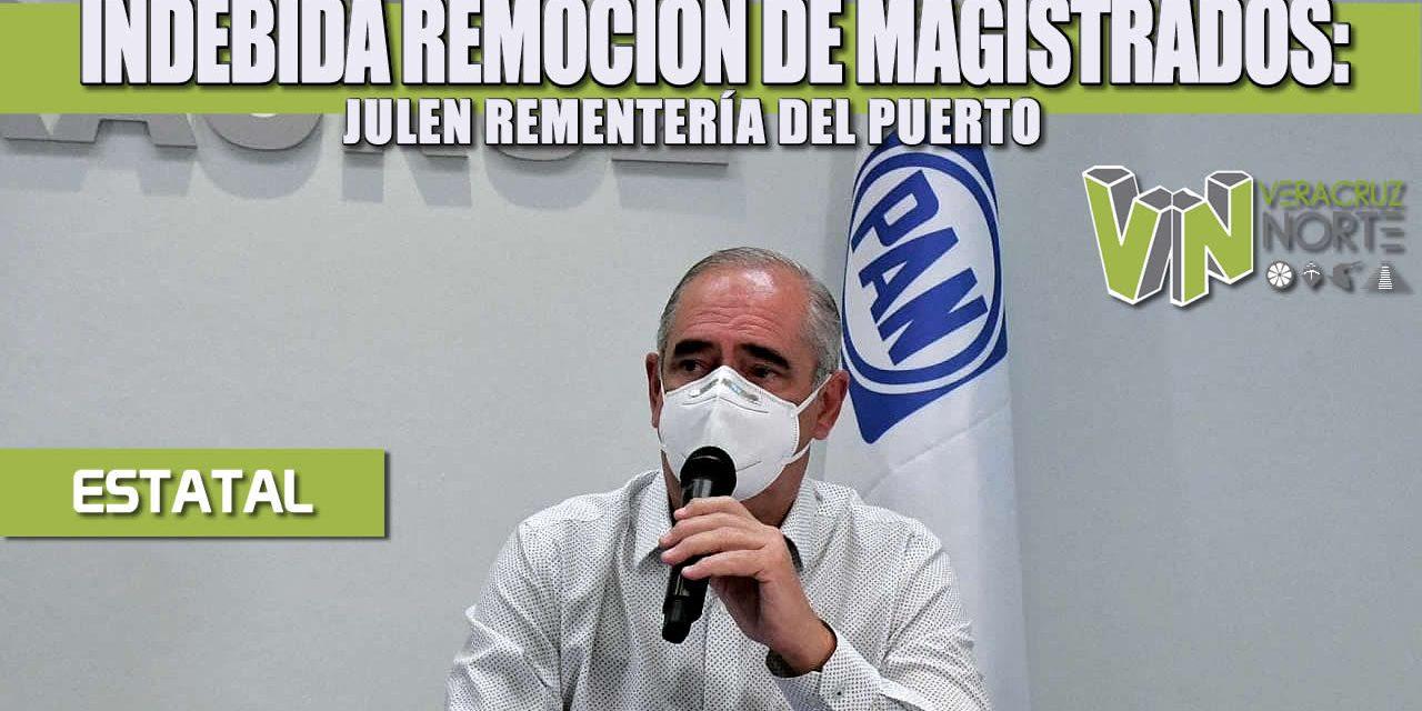 INDEBIDA REMOCIÓN DE MAGISTRADOS: JULEN REMENTERÍA DEL PUERTO