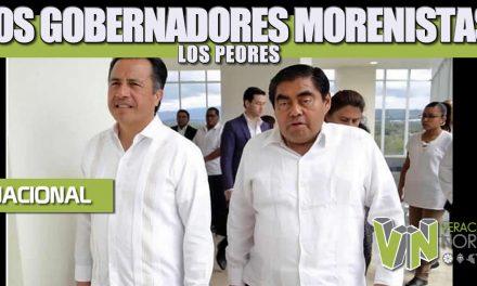 LOS GOBERNADORES MORENISTAS: LOS PEORES