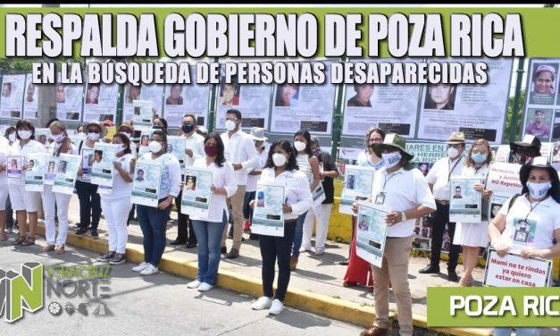RESPALDA GOBIERNO DE POZA RICA EN LA BÚSQUEDA DE PERSONAS DESAPARECIDAS