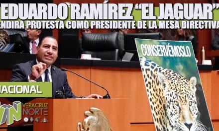EDUARDO RAMÍREZ «EL JAGUAR» rendirá protesta como presidente de la mesa directiva del Senado de la República