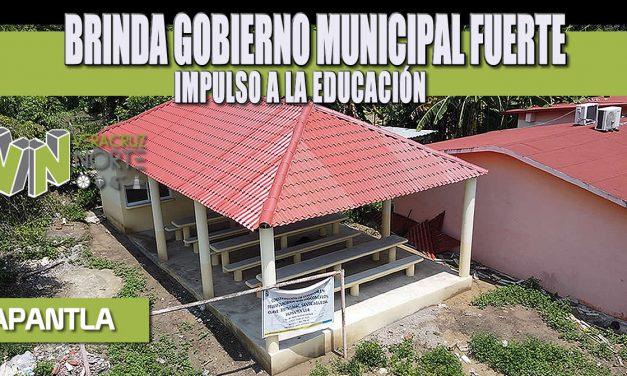 BRINDA GOBIERNO MUNICIPAL FUERTE IMPULSO A LA EDUCACIÓN
