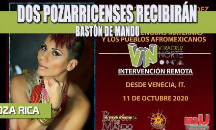 DOS POZARRICENSES RECIBIRÁN BASTÓN DE MANDO