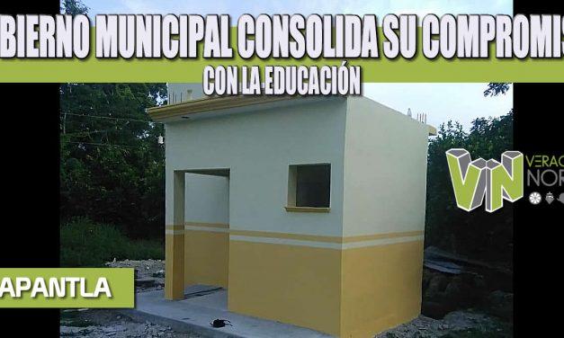 GOBIERNO MUNICIPAL CONSOLIDA SU COMPROMISO CON LA EDUCACIÓN