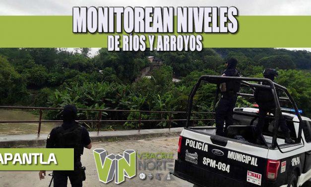 MONITOREAN NIVELES DE RÍOS Y ARROYOS