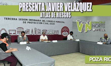 PRESENTA JAVIER VELÁZQUEZ ATLAS DE RIESGOS