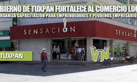 GOBIERNO DE TUXPAN FORTALECE AL COMERCIO LOCAL; ORGANIZA CAPACITACIÓN PARA EMPRENDEDORES Y PEQUEÑOS EMPRESARIOS