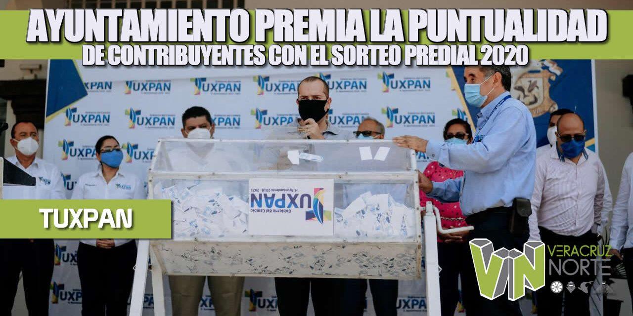 AYUNTAMIENTO PREMIA LA PUNTUALIDAD DE CONTRIBUYENTES CON EL SORTEO PREDIAL 2020